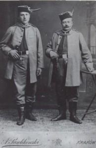 Dziadek i Pradziadek w Krakowie